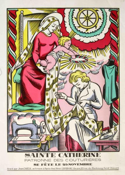 Sainte-Catherine (Archives du Musée)