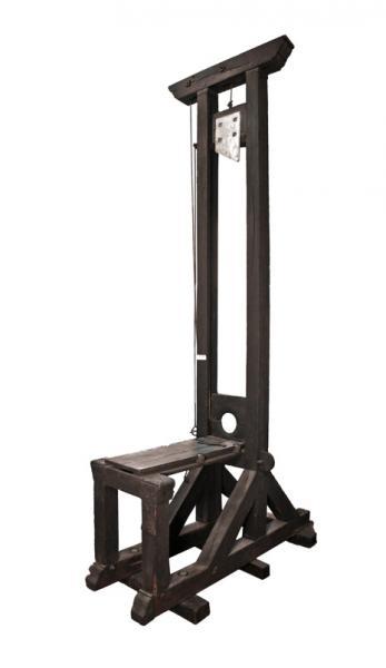 La dernière guillotine liégeoise