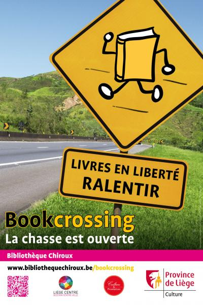 Bookcrossing - Bibliothèque Chiroux Liège