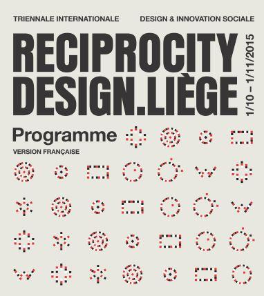 Reciprocity Design.Liège 2015 :The Taste of Change - Design for food